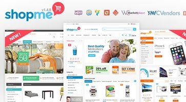 پوسته فروشگاهی ShopMe ووکامرس نسخه 1.5.3