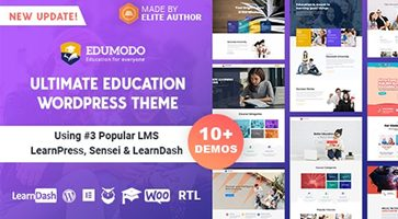 پوسته Edumodo سیستم آموزش آنلاین وردپرس نسخه 3.1.0