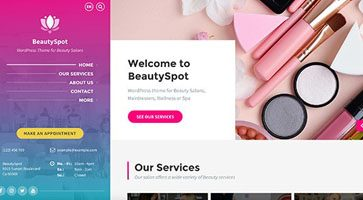 پوسته سالن زیبایی BeautySpot وردپرس نسخه 2.4.6