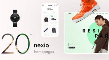 پوسته فروشگاهی Nexio ووکامرس نسخه 1.0.7