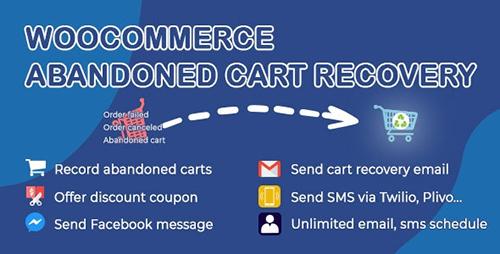 افزونه بازیابی سبد خرید ووکامرس WooCommerce Abandoned Cart Recovery