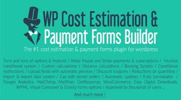 افزونه سفارش گیری و برآورد هزینه WP Cost Estimation & Payment وردپرس نسخه 9.697