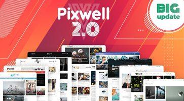 پوسته چند منظوره Pixwell وردپرس نسخه 2.2