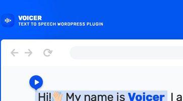 افزونه تبدیل متن به گفتار Voicer وردپرس نسخه 2.1.2