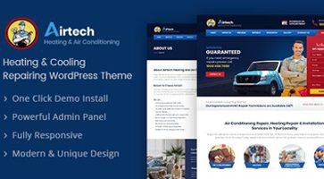 پوسته چند منظوره و خدماتی Airtech وردپرس نسخه 1.5