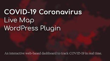 افزونه نقشه زنده ویروس کرونا COVID-19 Coronavirus وردپرس نسخه 2.2.6.2