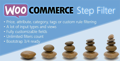 افزونه Woocommerce Step Filter