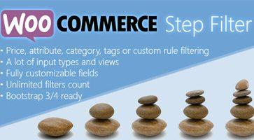 افزونه فیلتر مرحله ای محصولات Woocommerce Step Filter ووکامرس نسخه 6.3.0