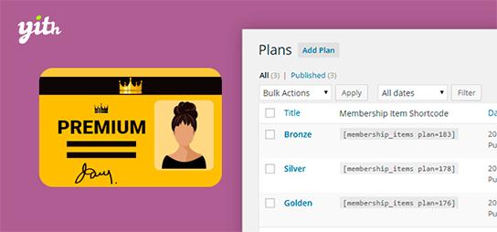 افزونه فارسی عضویت ویژه YITH WooCommerce Membership ووکامرس نسخه ۱٫۳٫۲۶