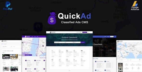 اسکریپت تبلیغات و آگهی مشابه شیپور Quickad Classified نسخه ۸٫۶