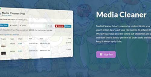 افزونه پاکسازی رسانه وردپس Media Cleaner Pro نسخه ۶٫۰٫۴