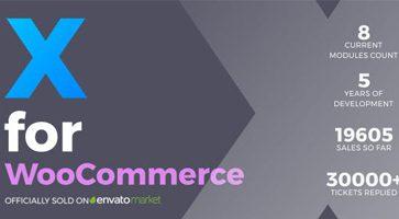افزونه XforWooCommerce برای ووکامرس نسخه 1.2.8