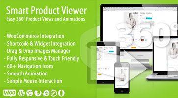 افزونه نمایش 360 درجه محصولات Smart Product Viewer ووکامرس نسخه 1.5.2