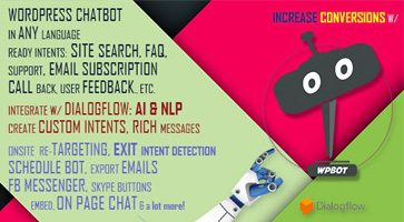 افزونه ربات چت ChatBot وردپرس نسخه  10.8.4
