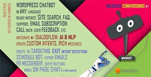 افزونه ربات چت ChatBot وردپرس نسخه  ۱۰٫۸٫۴