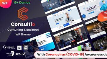 پوسته شرکتی Consultio وردپرس نسخه 1.1.2