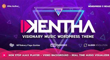 پوسته موزیک Kentha وردپرس نسخه 2.2.1