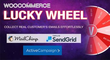 افزونه گردونه شانس Lucky Wheel ووکامرس نسخه 1.0.7.4
