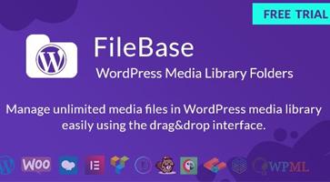 افزونه مدیریت رسانه و کتابخانه وردپرس FileBase نسخه 1.3.9.1