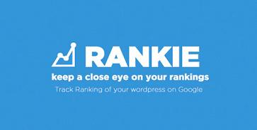 افزونه Rankie بررسی رتبه کلمات کلیدی سئو وردپرس نسخه 1.6.6