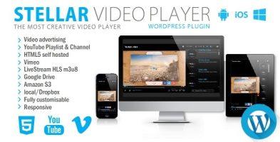 افزونه بخش ویدئو Stellar Video Player در وردپرس نسخه : 2.9