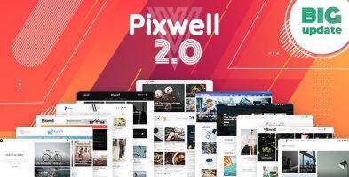 پوسته مجله خبری Pixwell وردپرس نسخه 7.1