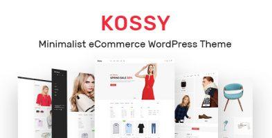 پوسته تجاری مینیمال Kossy وردپرس نسخه  1.25