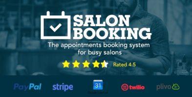 افزونه رزرو سالن و قرار ملاقات Salon Booking وردپرس نسخه 3.44.6