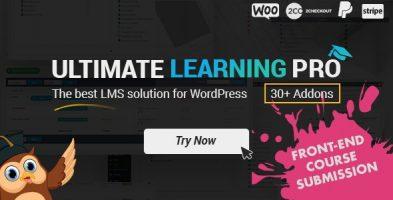 Ultimate Learning Pro افزونه آموزش آنلاین وردپرس نسخه 3.0