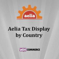افزونه نمایش مالیات بر اساس کشور Aelia Tax Display by Country for WooCommerce  ووکامرس نسخه ۱٫۱۶٫۰٫۲۱۰۵۰۴