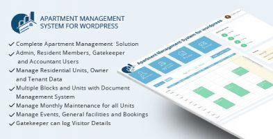 افزونه مدیریت آپارتمان WPAMS وردپرس نسخه 31.0