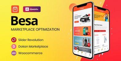 پوسته فروشگاهی Besa وردپرس نسخه 2.0.2
