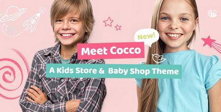 قالب فروشگاهی محصولات کودک Cocco وردپرس