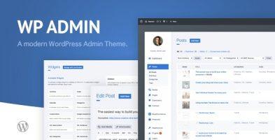 افزونه زیباساز و قالب برای مدیریت وردپرس wphave Admin نسخه 2.3