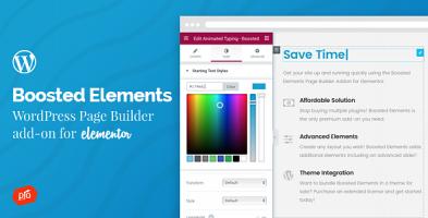 افزونه مکمل المنتور  Boosted Elements وردپرس نسخه 4.9