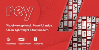 قالب فروشگاهی مد، لباس و مبلمان Rey ووکامرس نسخه 2.0.9