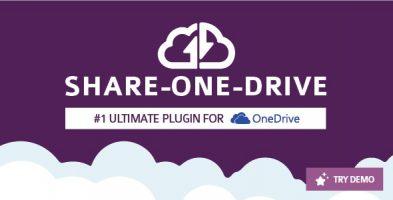 افزونه اشتراک گذاری Share-one-Drive وردپرس نسخه 1.14.10