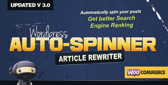 افزونه بازنویسی اتوماتیک محتوا WordPress Auto Spinner