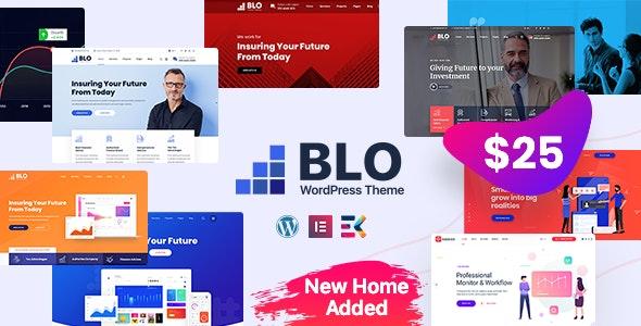 قالب کسب و کار شرکتی BLO وردپرس