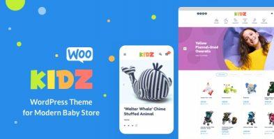 قالب فروشگاهی کودک KIDZ ووکامرس نسخه 4.12