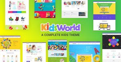 قالب  کودک Kids Heaven وردپرس نسخه 3.0