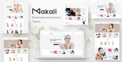 قالب آرایشی و زیبایی Makali ووکامرس نسخه 1.4.4