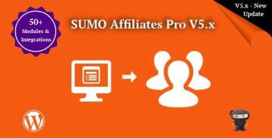 افزونه همکاری در فروش SUMO Affiliates Pro وردپرس نسخه 7.7