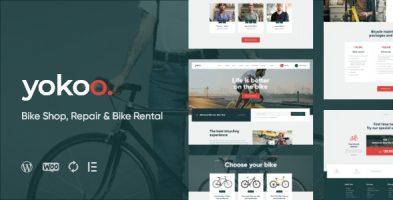 قالب فروشگاهی دوچرخه Yokoo وردپرس نسخه 1.0.2