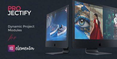 افزونه مدیریت پروژه برای صفحه ساز المنتور Projectify  نسخه 2.4