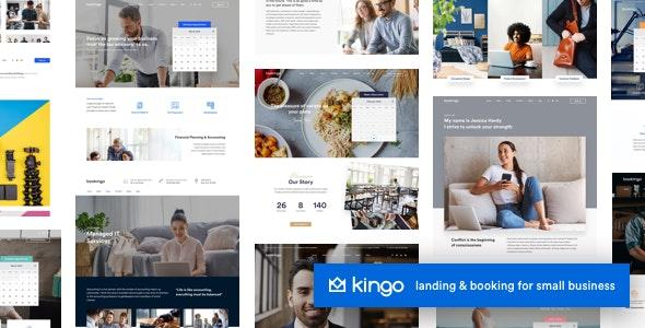 قالب بیزینس های کوچک Kingo وردپرس نسخه 2.4.1