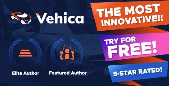 قالب خدمات خودرو Vehica وردپرس نسخه 1.0.6.0