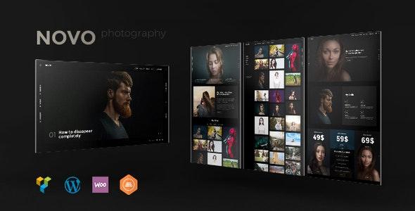 قالب عکاسی Novo وردپرس نسخه 4.0.1
