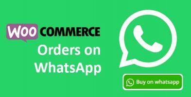 افزونه Woocommerce Orders on WhatsApp ووکامرس نسخه 1.1.1