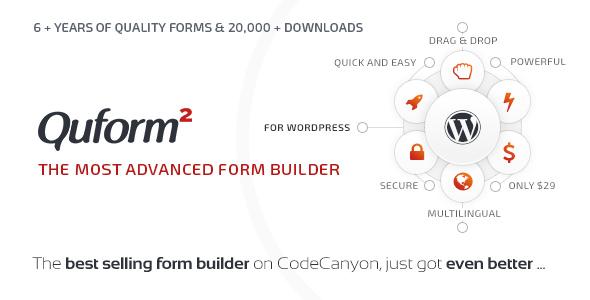 افزونه فرم ساز Quform وردپرس نسخه 2.14.2